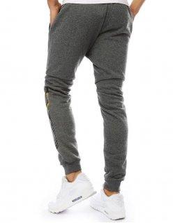 Nohavice pánske grafitové džínsové