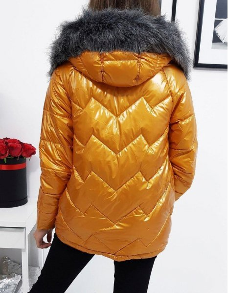 Hnedá dámska zimná bunda Venice