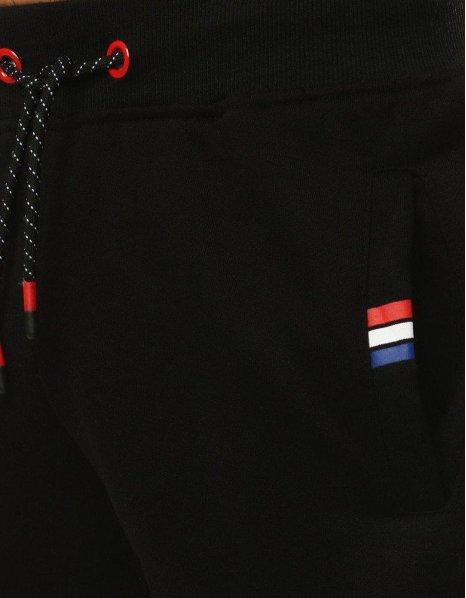 Čierne teplákové pánske jogger nohavice