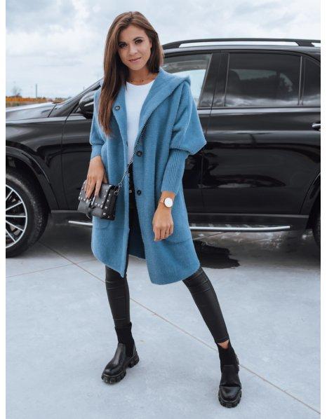 Modrý dámsky kabátik Rita