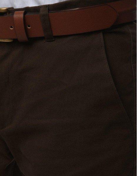 Pánska chinos nohavice hnedé