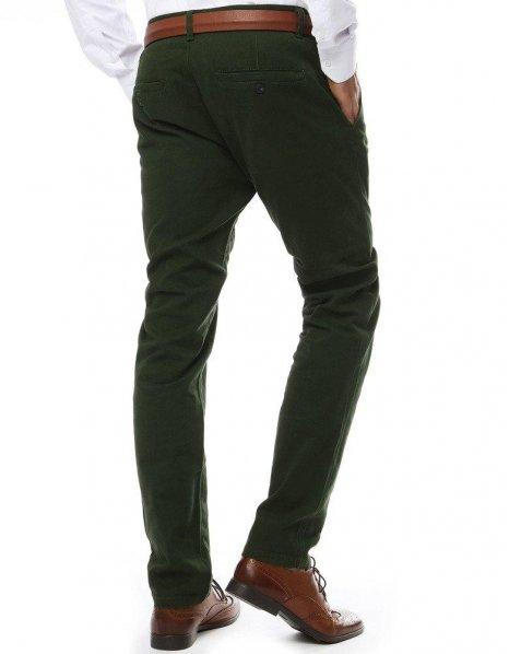 Pánska chinos nohavice zelené
