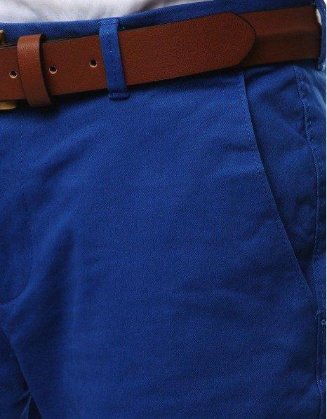 Pánska chinos nohavice modré