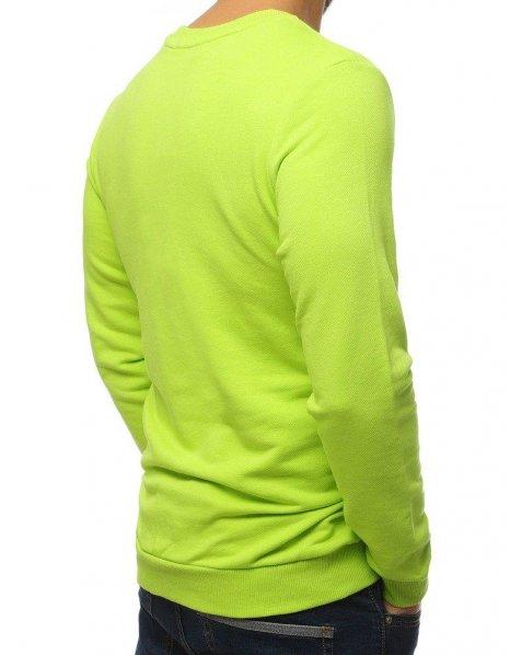 Pánska mikina s potlačou zelená