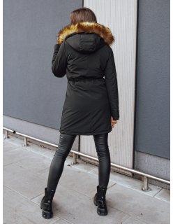 Šedá zimná prešívaná maskáčová bunda