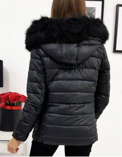 Antracitový dámsky kabát Last Hope