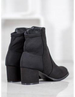 Čierne topánky workery