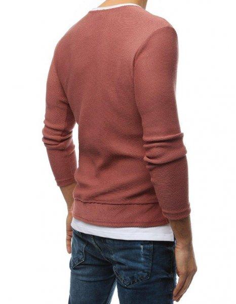 Pánsky ružový sveter