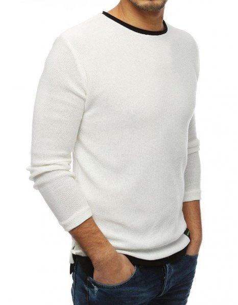 Pánsky ecru sveter