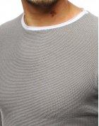 Pánsky svetlošedý sveter