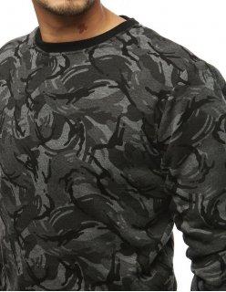 Tmavomodrý pánsky sveter