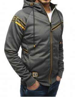 Grafitový pánsky sveter