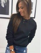 Čierna dámska mikina Fashion II
