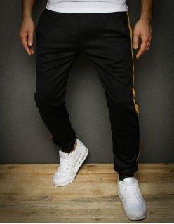 Čierna viazaná športová obuv