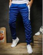 Modré pánske teplákové nohavice
