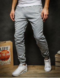 Tmavomodré džínsové pánske nohavice
