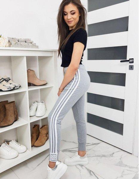 Dámske teplákové nohavice Bella biele