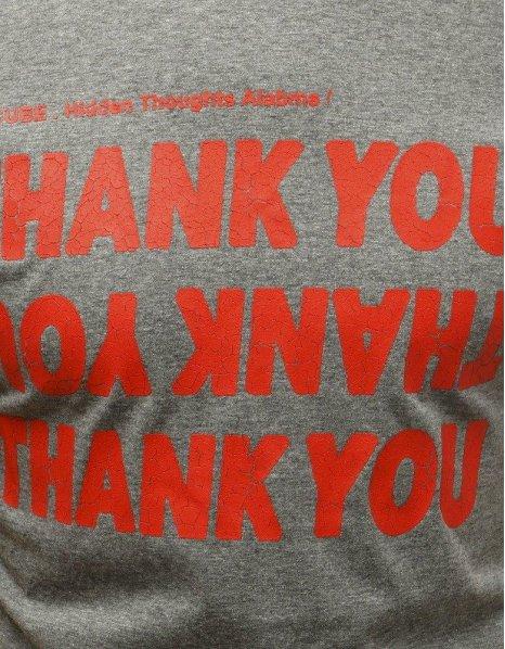 Šedé pánske tričko s potlačou